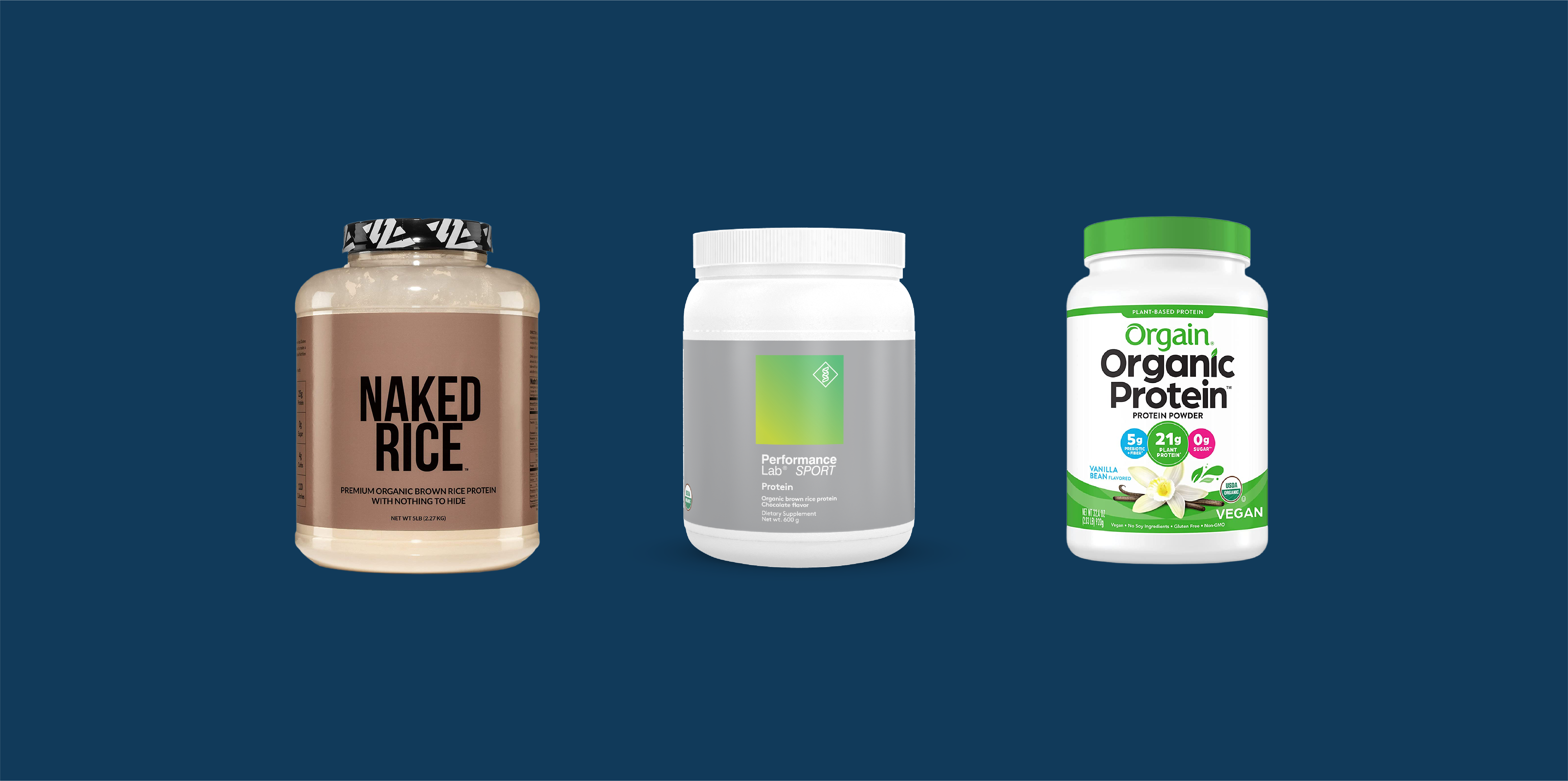 Best Rice & Brown Rice Protein Powders image