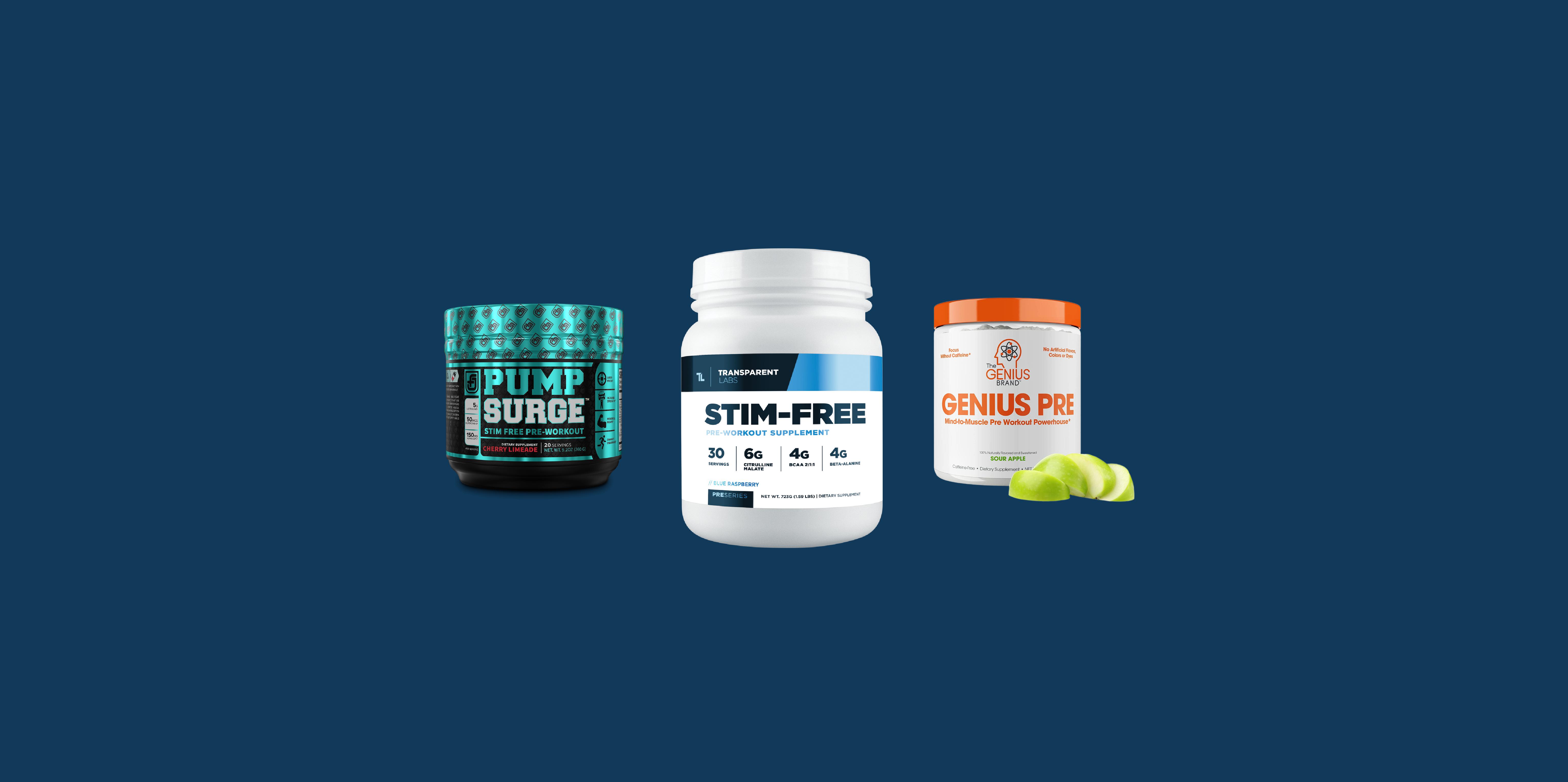 Best Caffeine-Free Pre-Workout Supplements